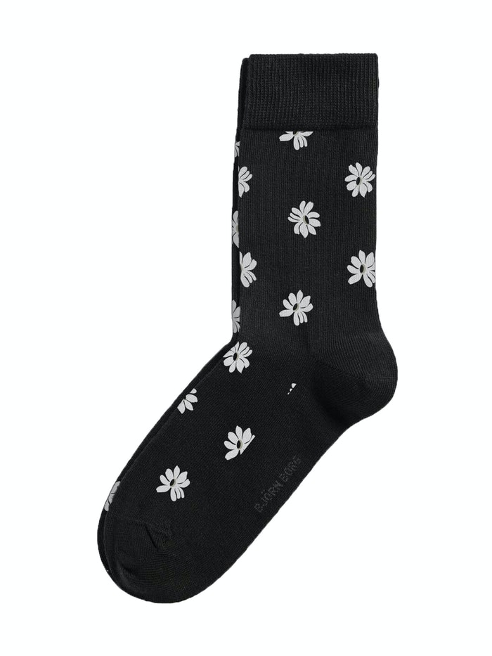 Simple Flower Ankle Socks