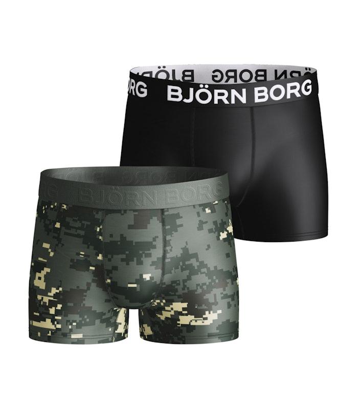 Digital Woodland Xl Boys Shorts 2-pack