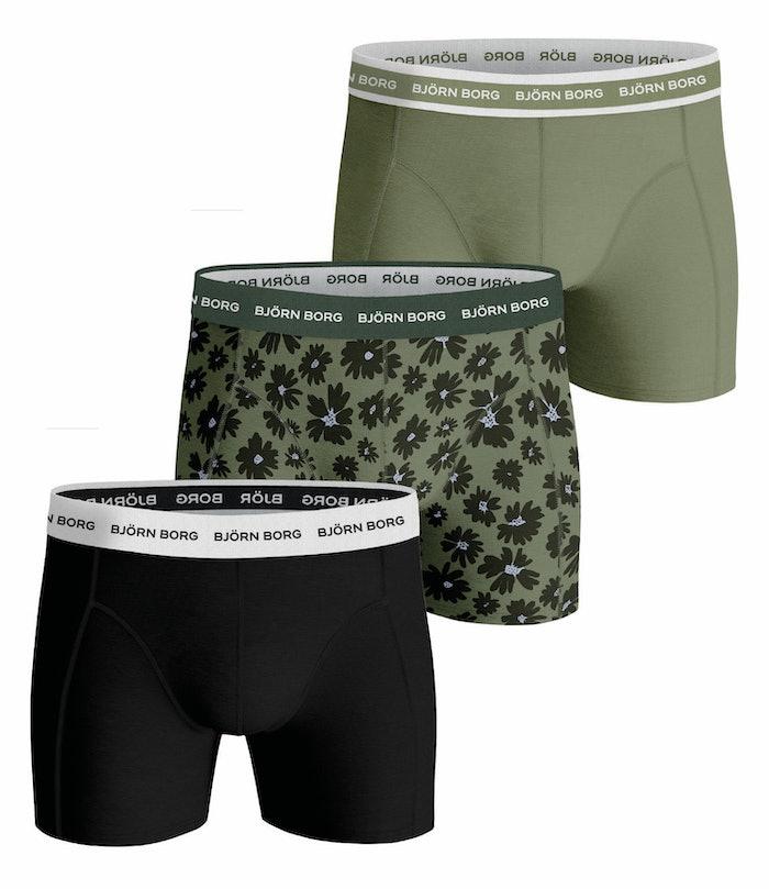 Fourflower Essential Shorts 3-pack