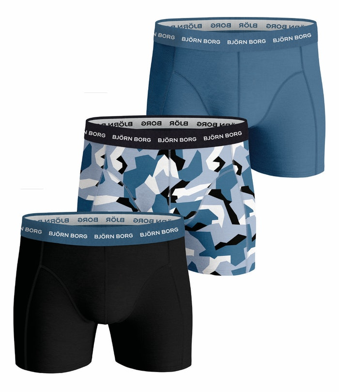 Nordic Camo Essential Shorts 3-pack