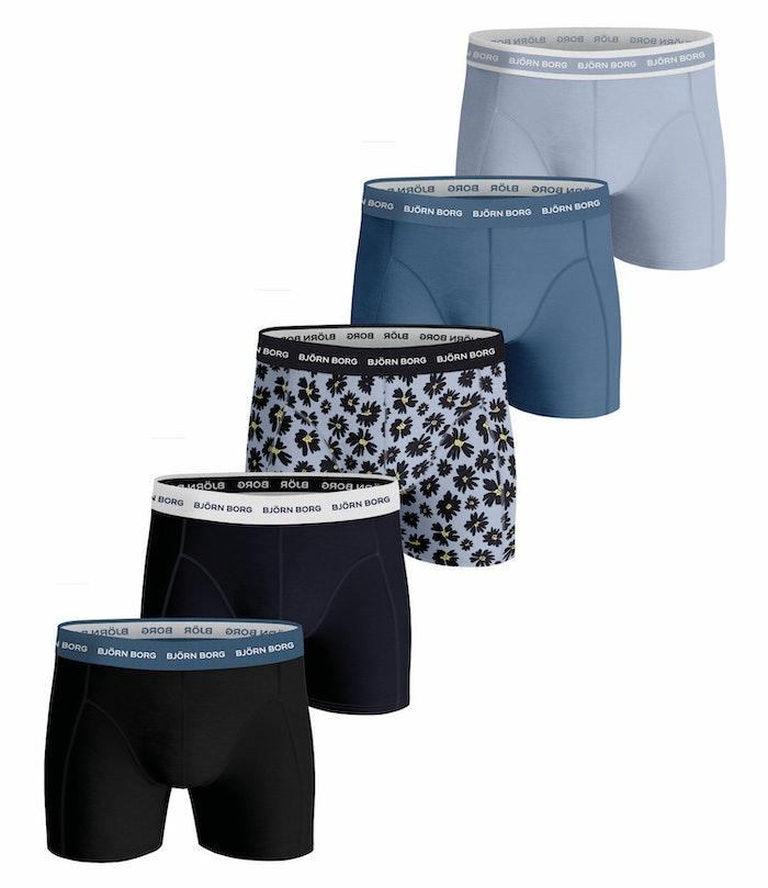 Fourflower Essential Shorts 5-pack