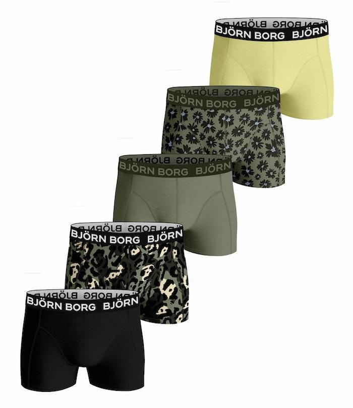Fourflower Boys Shorts 5-pack
