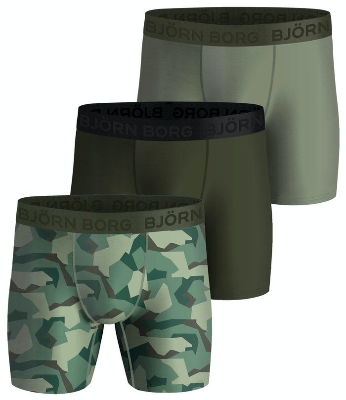 Nordic Camo Performance Shorts 3-pack
