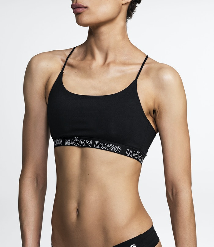 Solid Light Support Sports Top
