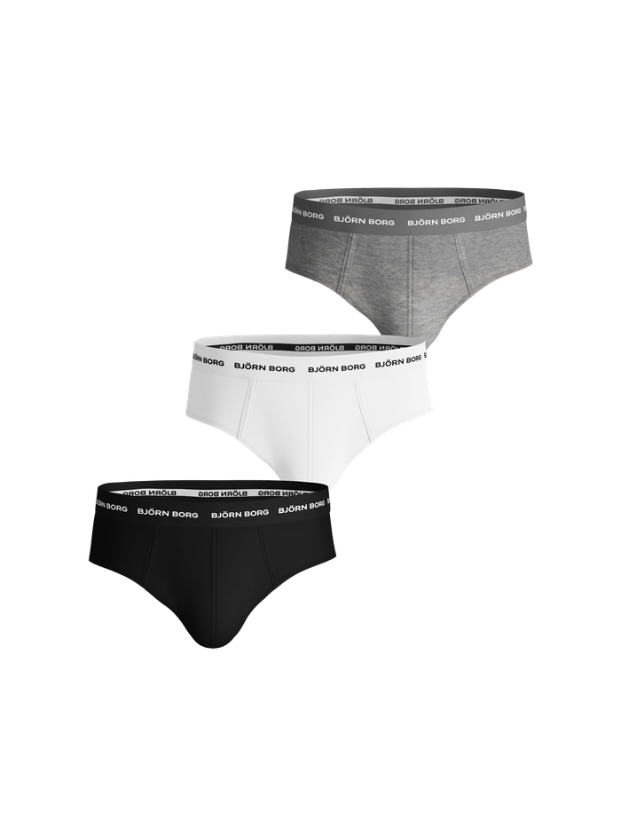 Solid Essential Briefs 3-pack