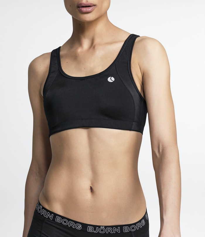 Solid High Support Sports Bra