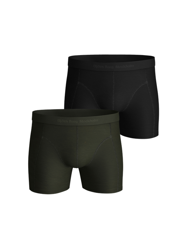 Solid Lyocell Boxer 2-pack