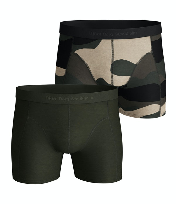 Peaceful Lyocell Shorts 2-pack