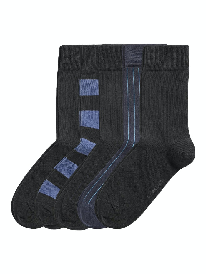 Essential Ankle Socks 5-pack