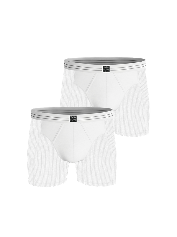 Core Original Rib Boxer 2-pack