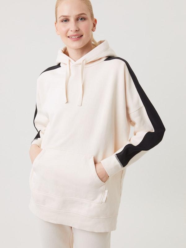 Sthlm Oversized Stripe Hood